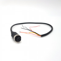 4 PIN Female to Bare End Cable 0.2 Metre