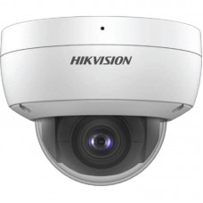 Hikvision 4MP IR Fixed Dome Network Camera, Built in Mic, 2.8mm lens