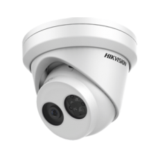 Hikvision 2MP IR Fixed Turret Network Camera, Built-In Mic, 2.8mm Lens