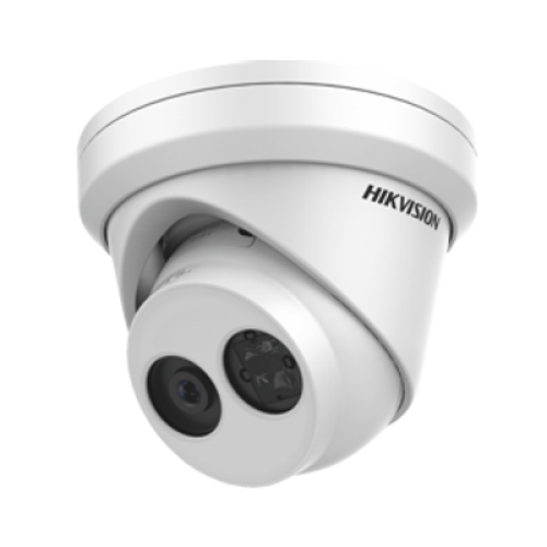 Hikvision 4MP IR Fixed Turret Network Camera, Built-in Mic, 4mm Lens