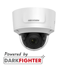 Hikvision 2MP IR Varifocal Dome Network Camera, Powered by Darkfighter, 2.8 to 12 mm lens
